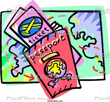 375x347 Travel Clipart Passport