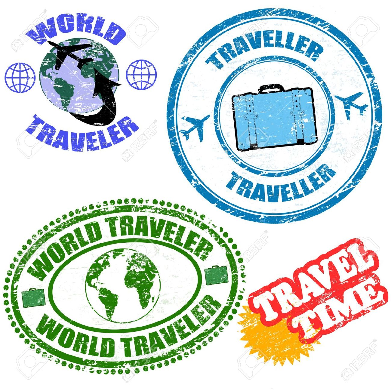 1300x1300 Suitcase Clipart Travel Stamp