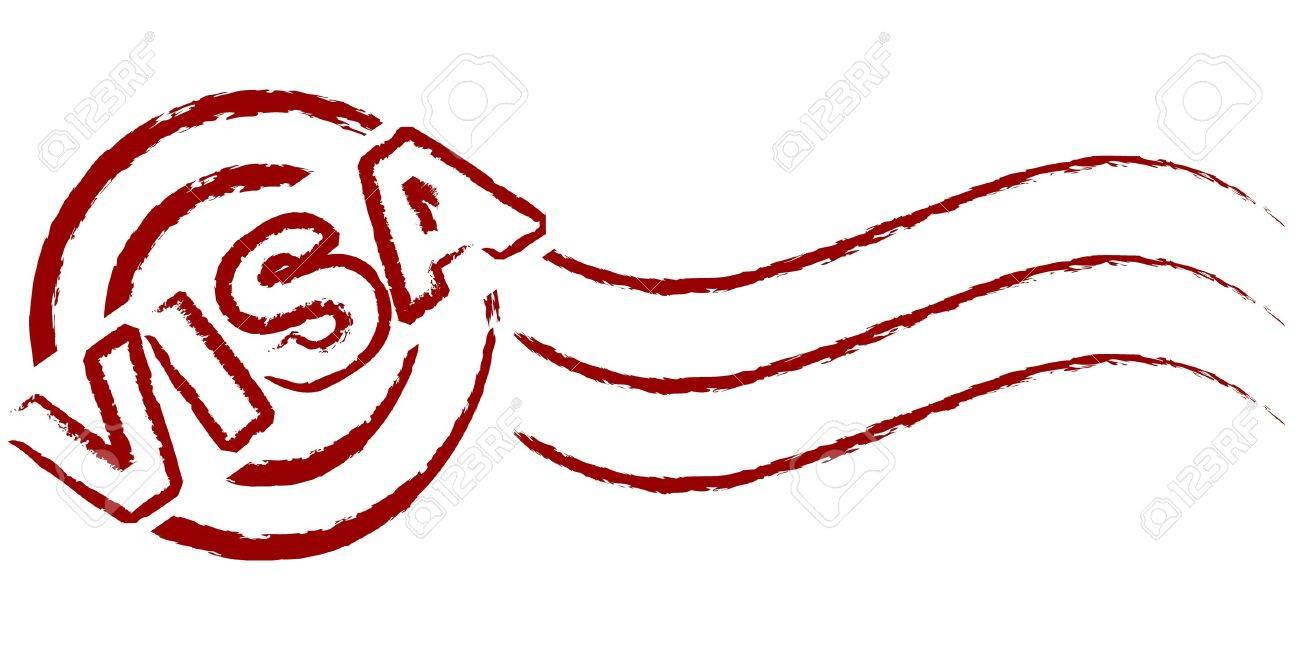 1300x650 Visa Stamp Royalty Free Cliparts, Vectors, And Stock Illustration