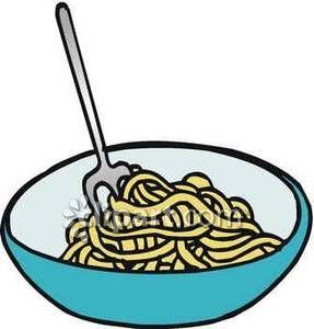 287x300 Spaghetti Clipart Fork In A Bowl Spaghetti Royalty Free Clipart