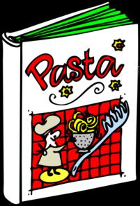201x297 Pasta Cookbook Clip Art
