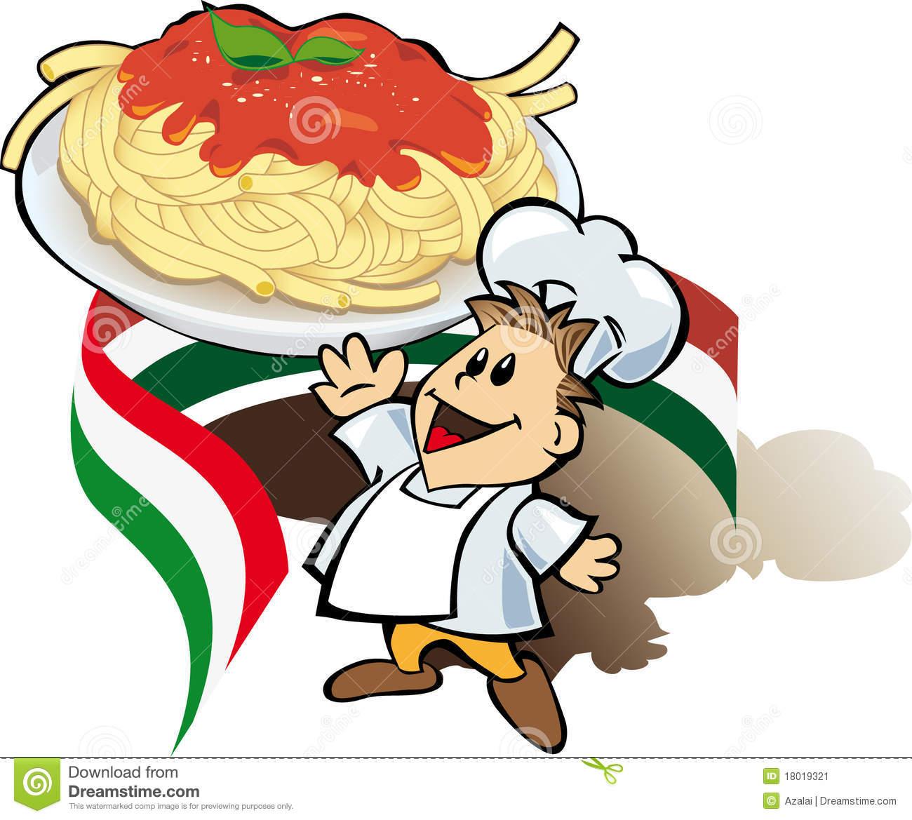 1300x1169 Pasta Clipart Italian Chef