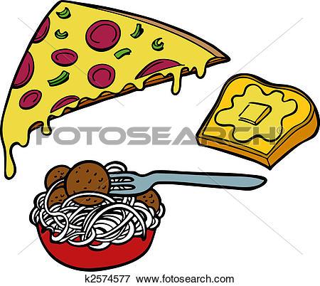 450x402 Pasta Clipart Pizza And Pasta