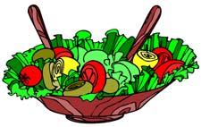 225x142 Salad Clipart