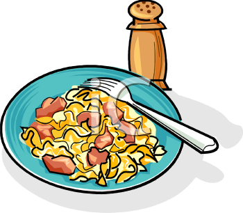 350x306 Spaghetti Clipart Chicken Dinner