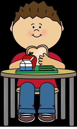 268x450 School Lunch Clip Art