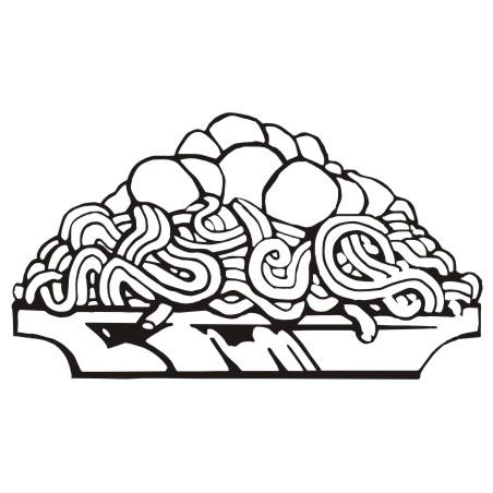 452x452 Spaghetti Pasta Clip Art