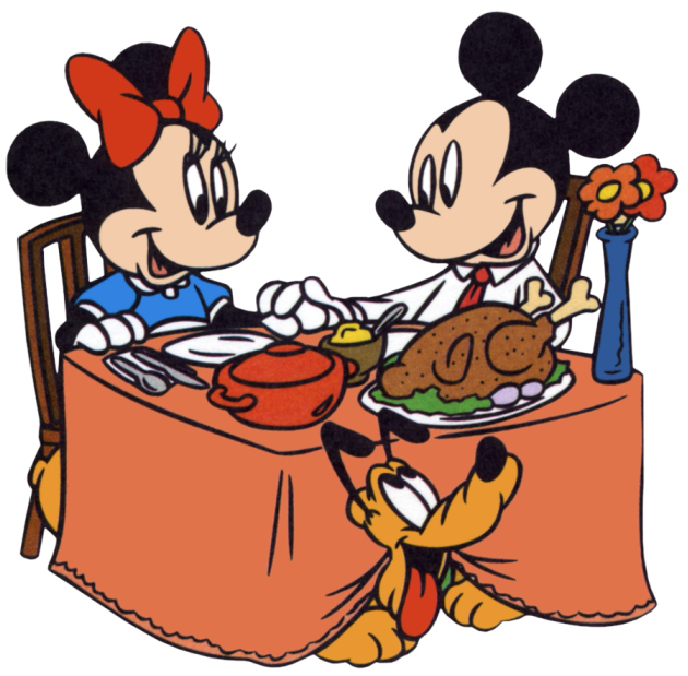 630x619 Cartoon Dinner Clipart