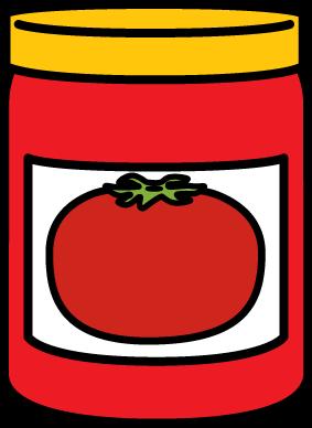 283x388 Jar Of Spaghetti Sauce Clip Art