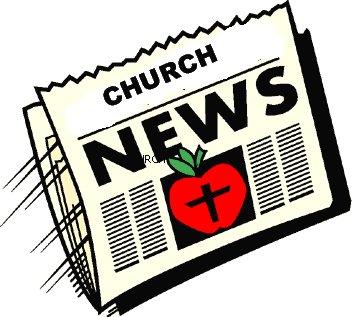 352x317 Church Newsletter Clipart