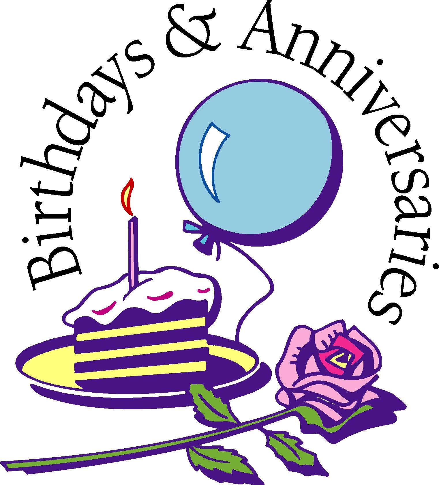 1522x1680 Birthday And Anniversary Clipart