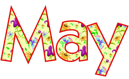 500x307 May Month Clip Art