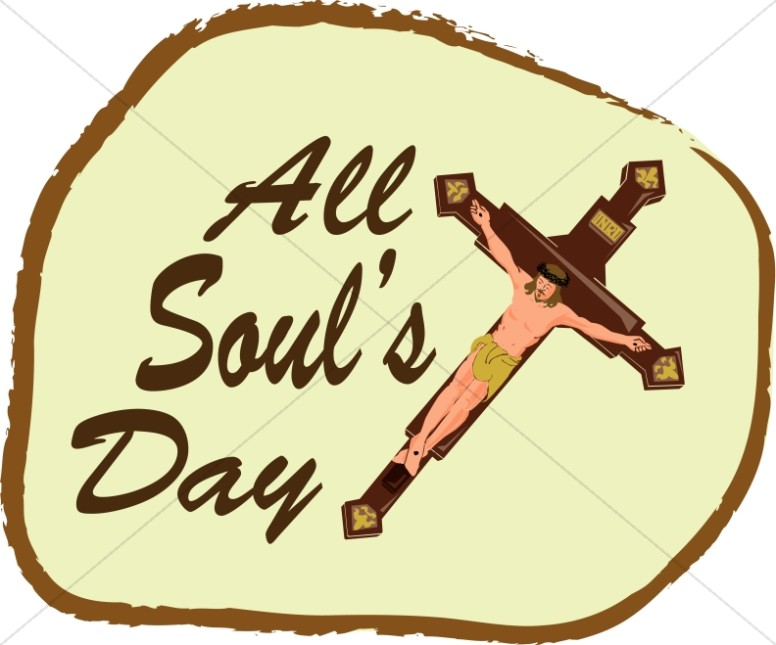776x645 All Souls Day Event Word Art