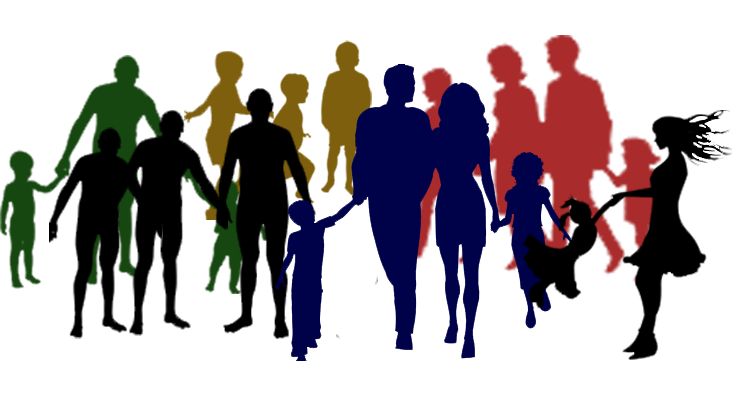 737x396 Family And Friends Clipart