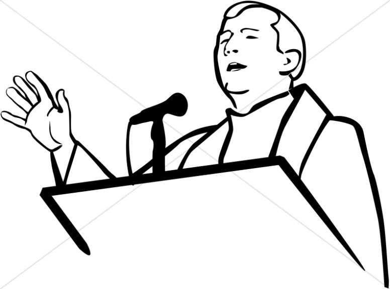 776x576 Pulpit Clipart Church People Clipart
