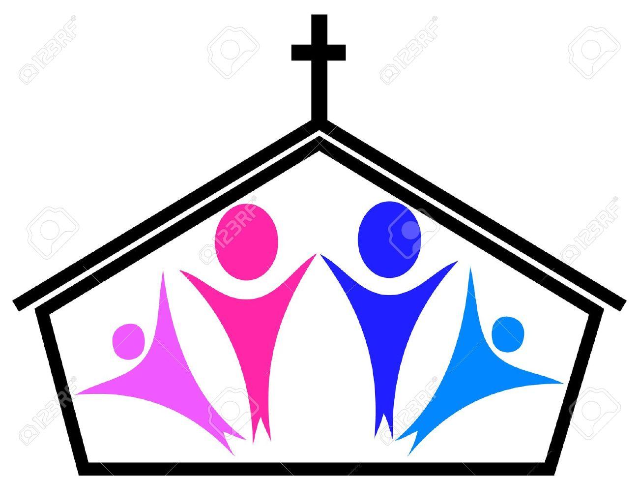 1300x974 Church Clipart Church Family