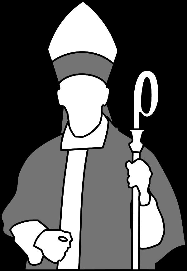 600x869 Staff Clipart Bishop