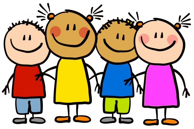 650x432 School Children Clipart