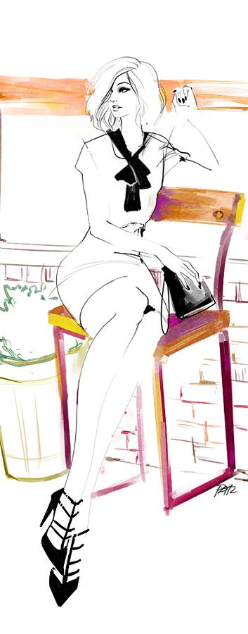 353x900 131 Best Sketches Scenes Of Fashion Images Art