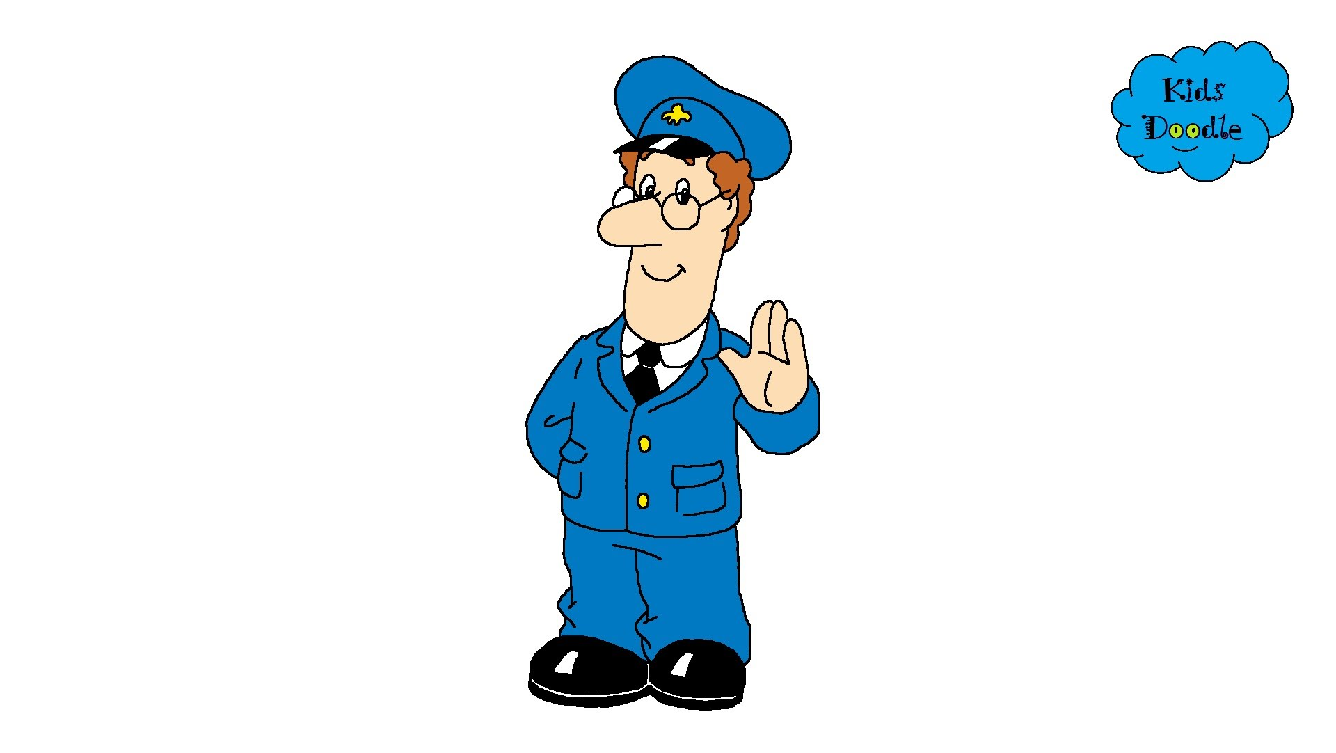 1920x1082 How To Draw Postman Pat From The Movie And Tv Episodes In A Full