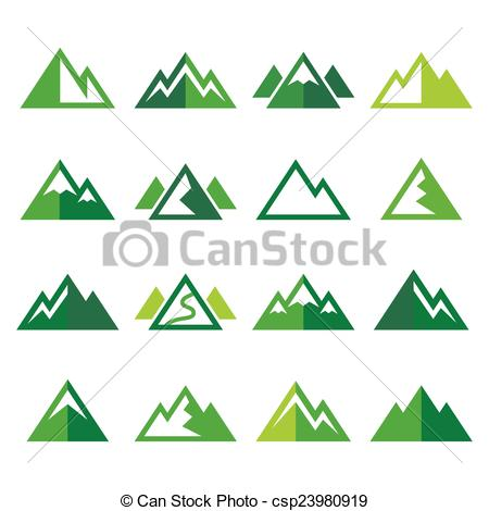 450x470 Mountain Path Clipart