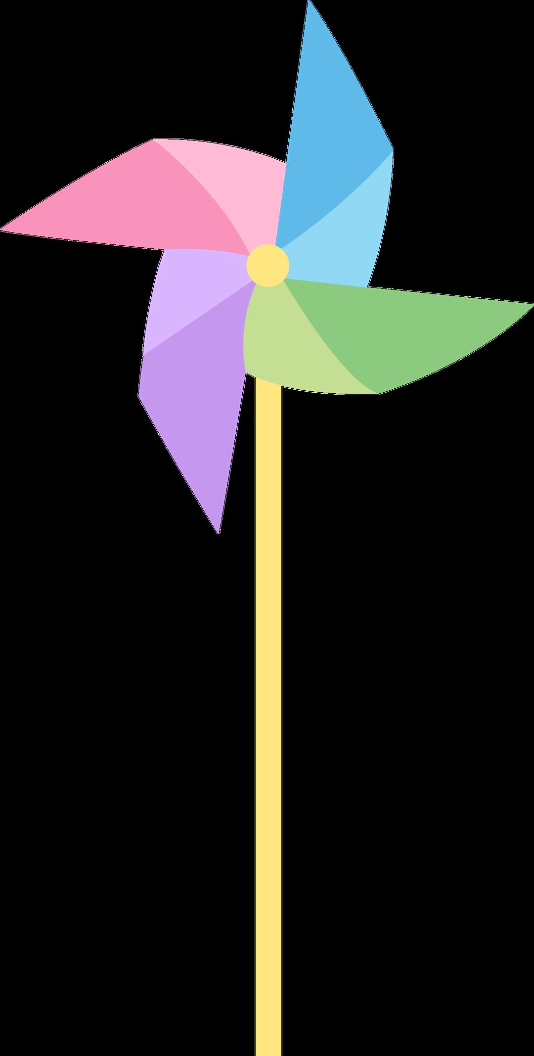1080x2135 Pastel Colored Pinwheel Free Clip Art Toy ~ Idolza