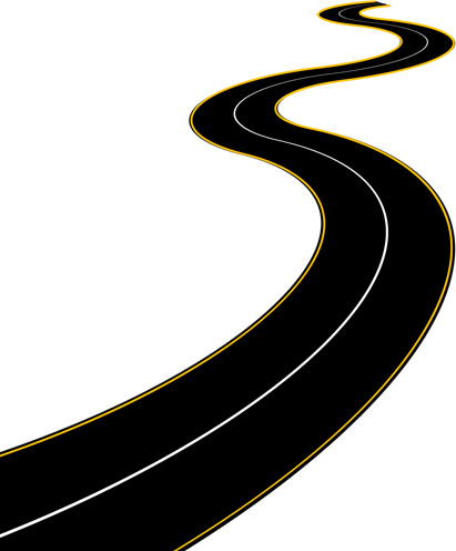 411x496 Pathway Clipart Winding Road