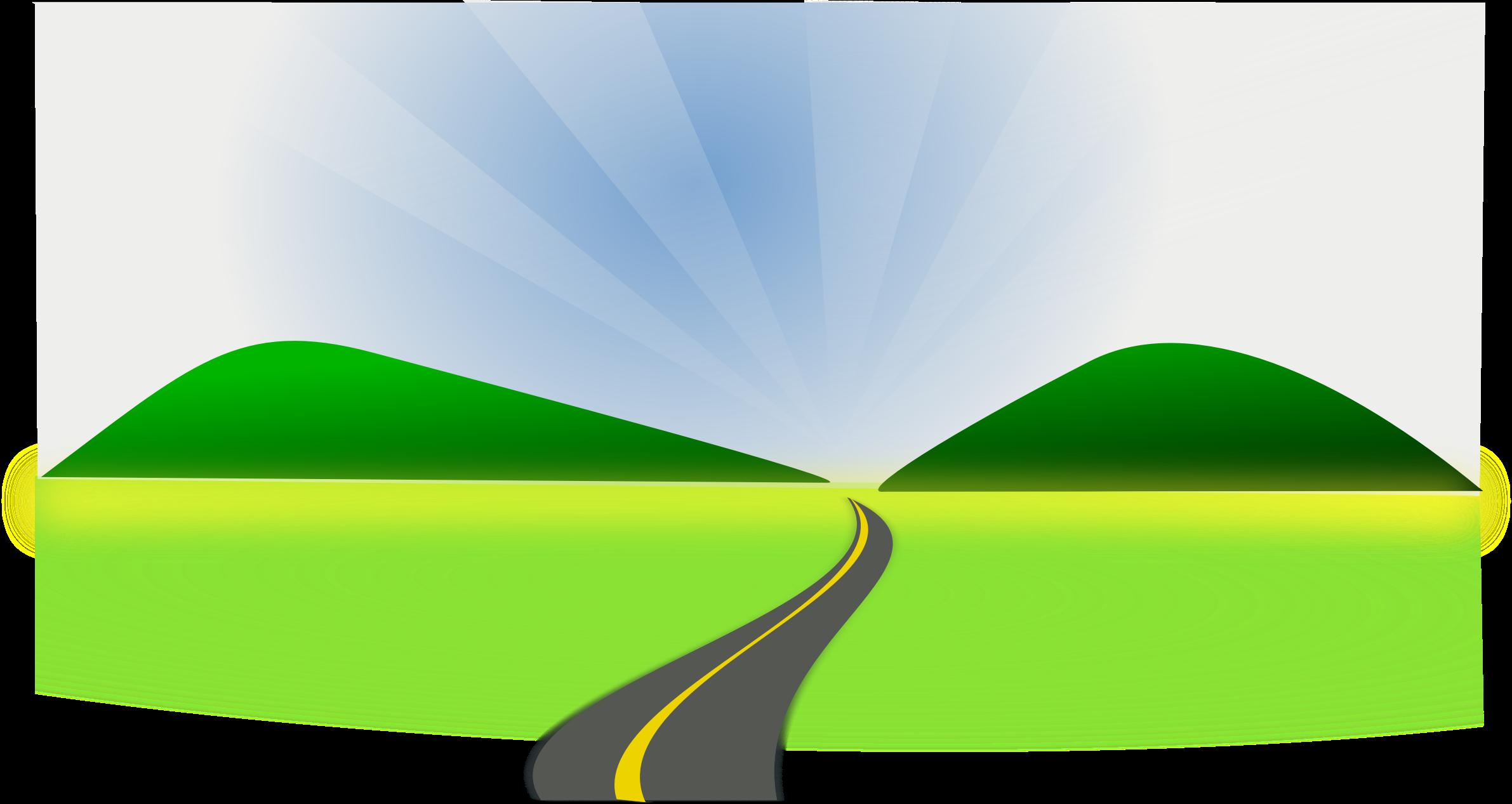 2382x1267 Pathways Clipart