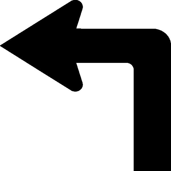 600x601 Arrow Left Clip Art