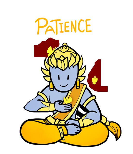 550x635 Zen Clipart Patience