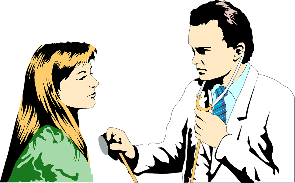 958x597 Doctor With Patient Clipart The Cliparts Databases