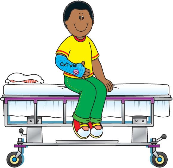 581x563 Hospital Patient Clipart