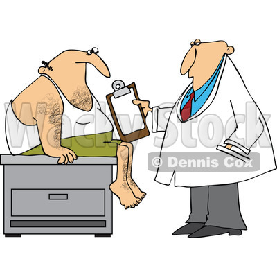400x400 Of A Medical Doctor Examining A Male Patient