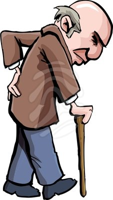 226x400 Old People Clipart