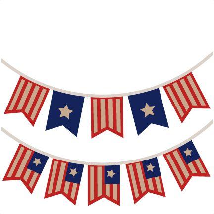 Patriotic Banner Clipart