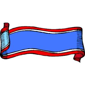 300x300 Patriotic Banner 9 Clipart, Cliparts Of Patriotic Banner 9 Free