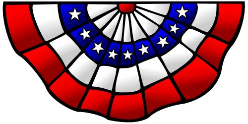 500x250 Patriotic Clip Art And Borders Freebordersandclipart On Clipartix