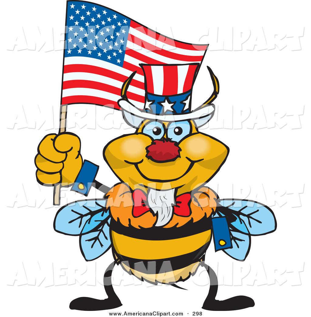 1024x1044 Americana Vector Cartoon Clip Art Of A Happy And Patriotic Uncle