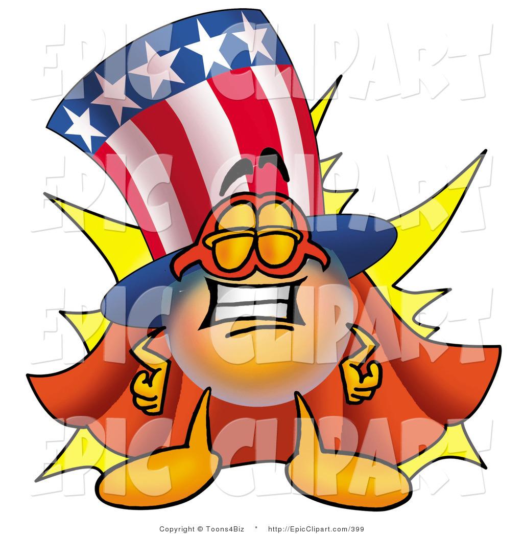 1024x1044 Clip Art Of A Patriotic Uncle Sam Mascot Cartoon Character Dressed