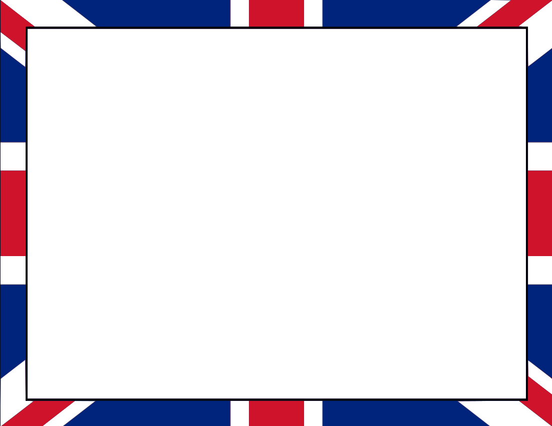 1100x850 British Flag Border Projects To Try Flags And British