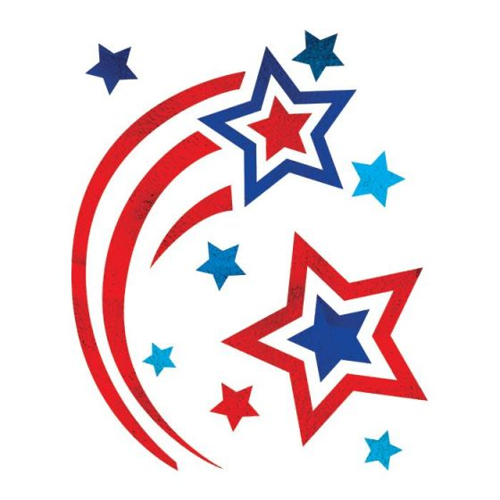 Patriotic Star Clipart | Free download on ClipArtMag