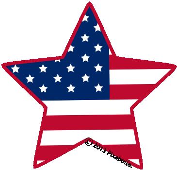 365x350 Patriotic Star Border Clip Art Clipart Panda