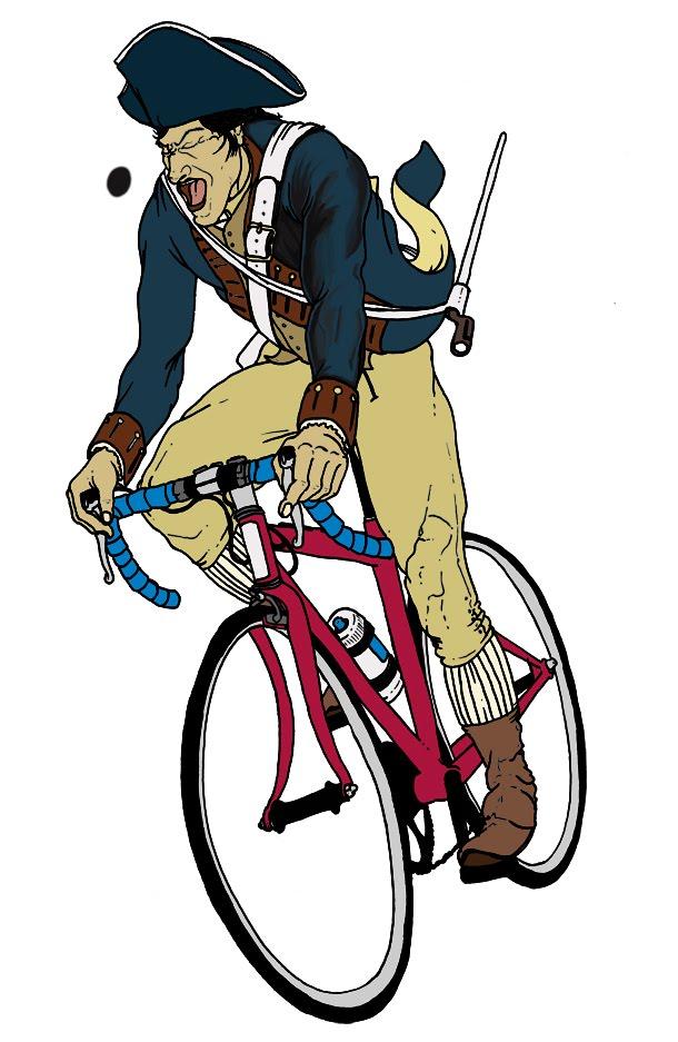 610x937 Mended Arrow Design Blog Paul Revere On A Bike!!
