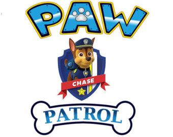 340x270 Paw Patrol Badge Clip Art