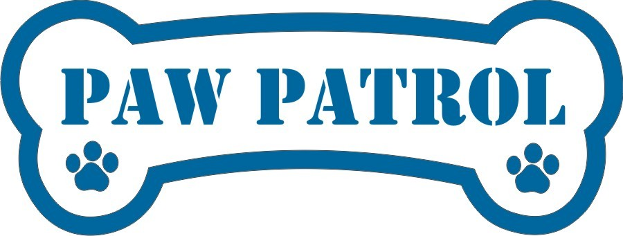 900x341 Bones Clipart Paw Patrol