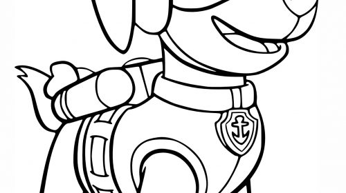 500x280 Fresh Paw Patrol Coloring Pages Coloring Pages Activities