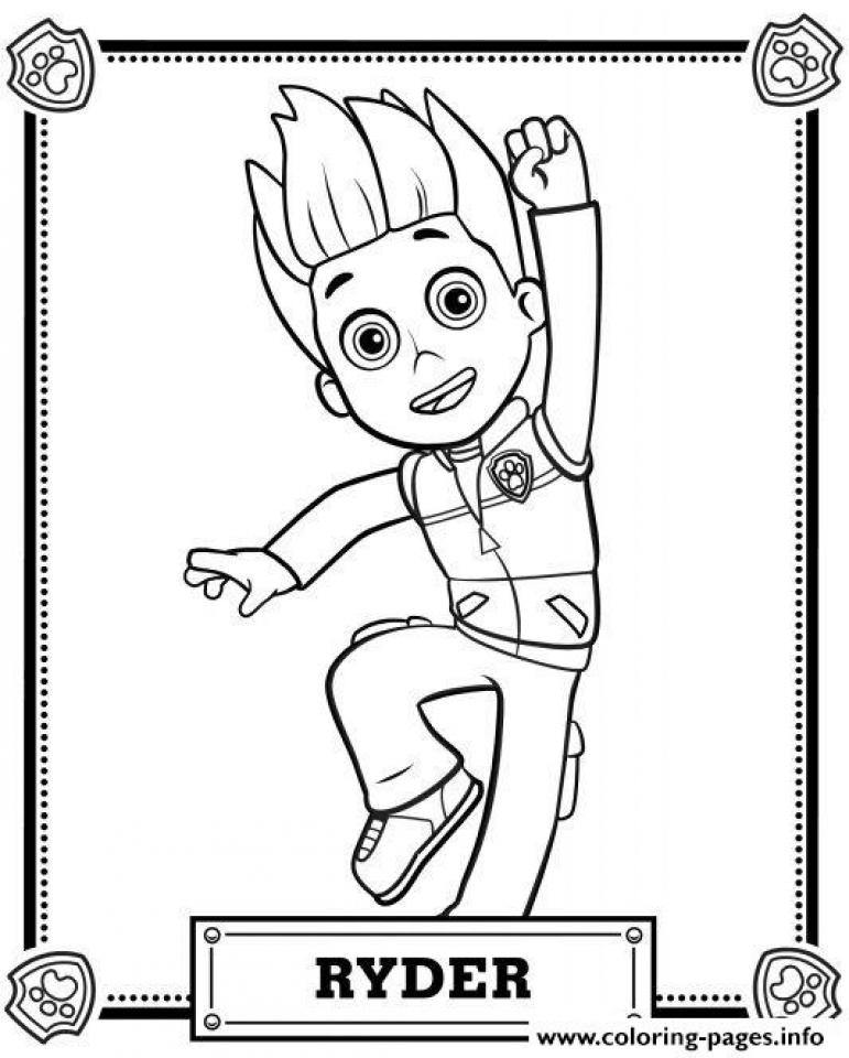 771x960 Get This Paw Patrol Coloring Pages Free To Print 73961 !