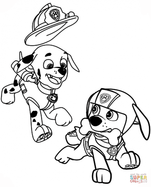 524x650 How To Draw Paw Patrol And Coloring Pages