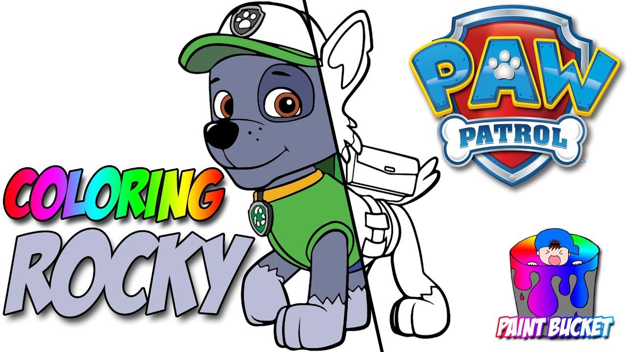 1280x720 Paw Patrol Coloring Book