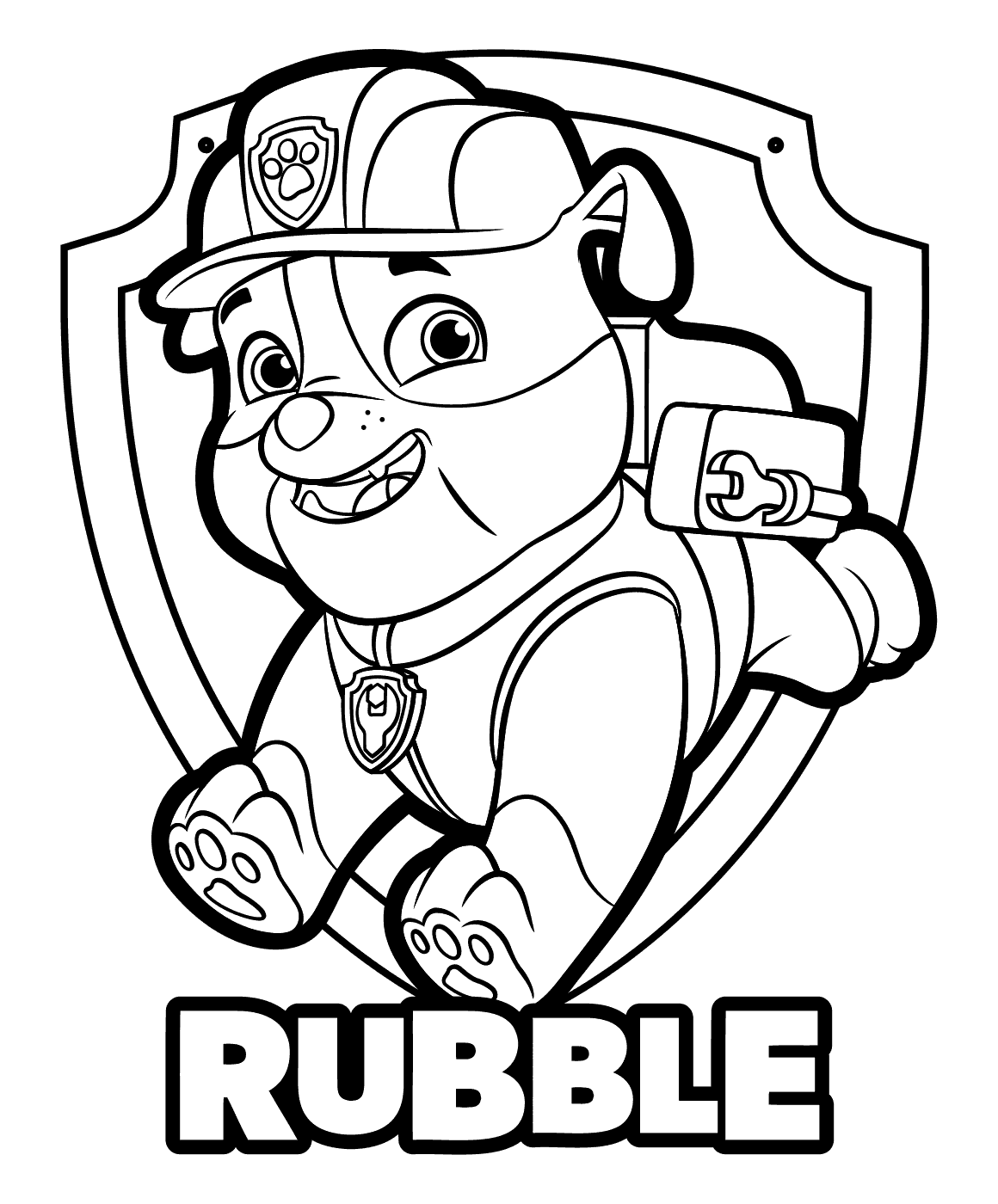 paw patrol coloring pages free on clipartmag